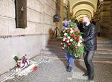 Uctění památky Jana Palacha za komorní účasti v do...