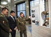 V armádním muzeu na Žižkově byla zahájena výstava ...