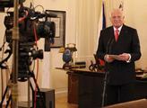 Prezident Václav Klaus pronesl poslední novoroční ...