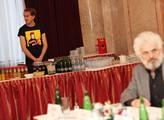 V Mramorovém salonku pražské Lucerny proběhlo zveř...
