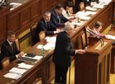 Prezident Miloš Zeman zavítal do poslanecké sněmov...