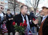 Vnučka maršála Koněva Jelena Gelijevna přišla polo...