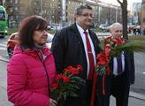 Marta Semelová a Petr Šimůnek