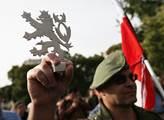 Pražská demonstrace proti islamizaci Chceme bezpeč...
