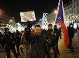 Poslední protest proti vládním opatřením v roce 20...