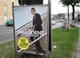 Plakát volební kampaně Van der Bellena