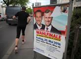 Poslední předvolební mítink kandidáta na spolkovéh...