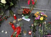 Shromáždění pro zachování sochy maršála Koněva v p...