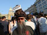 Demonstrace proti premiérovi Andreji Babišovi a mi...