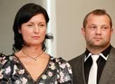 Kandidáti Simona Chytrová a Vítězslav Janků