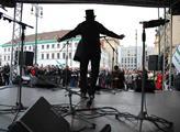 Na náměstí Republiky proběhl Koncert  pro Svobodné
