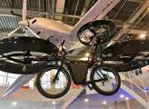 Létající kolo-jeden z exponátů českého pavilonu na...