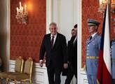 Prezident Miloš Zeman jmenoval Jiřího Rusnoka prem...