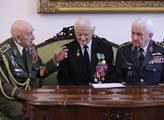 Váleční hrdinové z druhé světové války podpořili M...