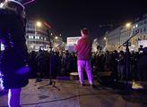 Demonstrace na Václavském náměstí za demisi premié...