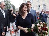 Premiér Andrej Babiš uvedl do funkce ministryni pr...