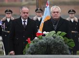 Prezident České republiky Miloš Zeman a prezident ...