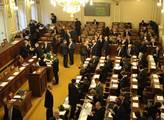 První zasedání sněmovny v sedmém volebním období m...