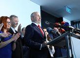 Slavnostní představení nové parlamentní strany Tr...