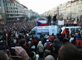 Protivládní demonstrace Národní rady