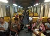 Uprchlíci v mezinárodním vlaku v Břeclavi ještě v ...