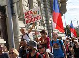 Pochod pro rodinu. Demonstrující chtěli poukázat i...