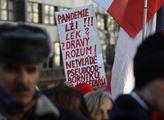 Demonstrace proti vládě a na podporu poslance Lubo...