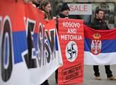 Na Václavském náměstí proběhl protest proti poruše...