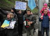 Pochod na podporu krymských Tatarů, který vyvrchol...