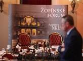Jubilejní Žofínské fórum s prezidentem republiky M...