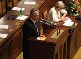 Senátor František Bublan jako předkladatel novely ...