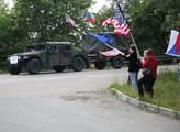 Přesun příslušníků 2. jízdního pluku americké armá...