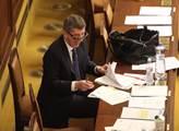 Mimořádná schůze sněmovny. Ministr financí Andrej ...