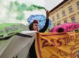 Demonstrace proti plánovanému Transatlantickému ob...
