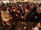 Na Václavské náměstí a na Národní třídu přišli lid...