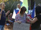 """Demonstrace """"Nezapomínáme. Protestujeme"""" k výročí ..."""