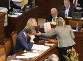 Jednání sněmovny. Na pořadu byl například návrh na...