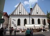 Betlémská kaple byla znovuvybudována v 1. polovině...