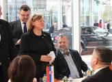 Prezident Miloš Zeman na návštěvě Srbska