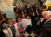 Prezident Václav Klaus poctil svou návštěvou prvňá...