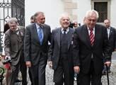 Prezident republiky Miloš Zeman se zúčastnil odhal...