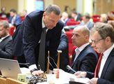 Jednání pražského zastupitelstva. Na programu byly...