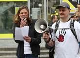 Pochod proti geneticky modifikovaným potravinám ,f...