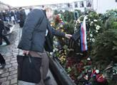 Plavba s květinami pro zesnulého Václava Havla