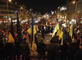 Na Václavském náměstí v Praze se konal protest pro...