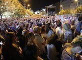 Na koncert k výročí okupace na Václavské náměstí d...