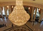 Interiér prezidentského paláce v Kazachstánu