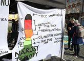 Čeští studenti se přidali k celosvětovému protestn...