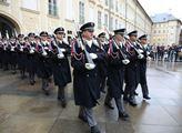 Slavnostní akt k 100. výročí vzniku Hradní stráže