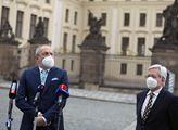 Je to jen žvanění, rozčílil se Klaus junior po schůzce s prezidentem. A potěšil Moravu a Slezsko